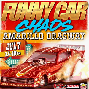 Amarillo Funny Car Chaos flyer
