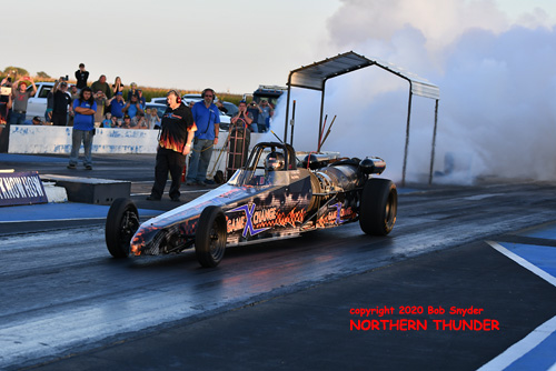 Ray Kelley - 'Game Xchange' Jet Dragster