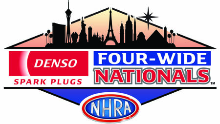 NHRA Denso Spark Plugs 4-Wide Nationals